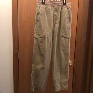 Boy's Simply Styled Khaki Cargo Pants